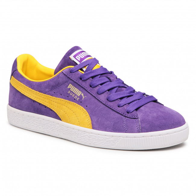 Sneakersy PUMA - Suede Teams 380168 03 Prism Violet/Spectra Yellow
