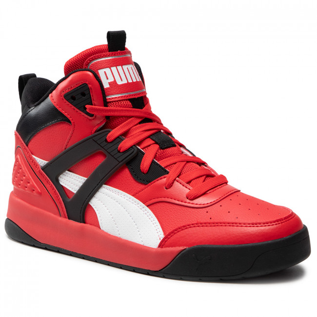 Sneakersy PUMA - Backcourt Mid 374139 09 High Risk Red/White/Black