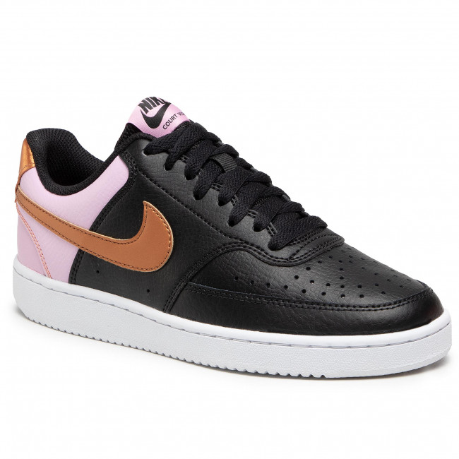Buty NIKE - Court Vision Low CD5434 004 Black/Metallic Copper/White