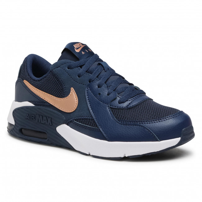 Buty NIKE - Air Max Excee Gs CD6894 400 Midnight Navy/Mtlc Red Bronze