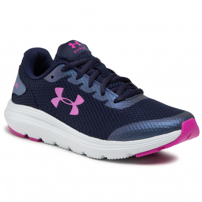Buty UNDER ARMOUR - Ua Gs Surge 2 3022870-404 Nvy/Gry