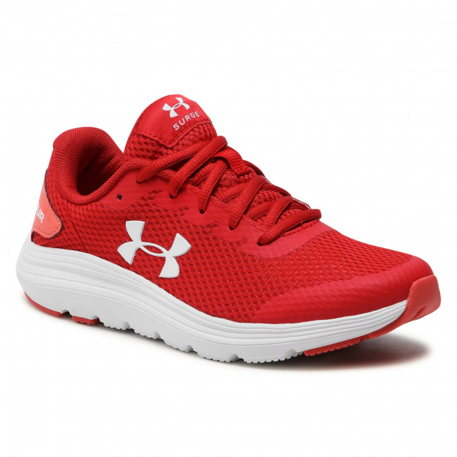 Buty UNDER ARMOUR - Ua Gs Surge 2 3022870-603 Red