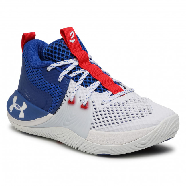 Buty UNDER ARMOUR - Ua Embiid 1 3023086-107 Wht