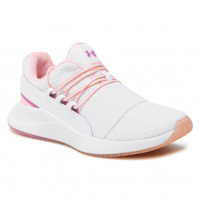 Buty UNDER ARMOUR - Ua W Charged Breathe Clr Sft 3023658-100 Wht
