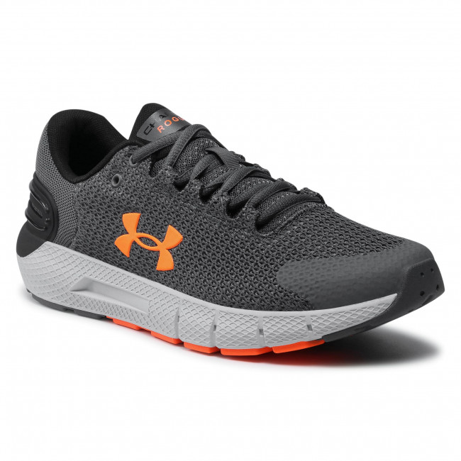 Buty UNDER ARMOUR - Ua Charged Rogue 2.5 3024400-104 Gry/Gry