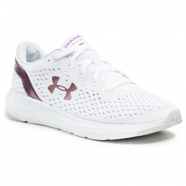 Buty UNDER ARMOUR - Ua W Charged impulse Shift 3024444-100 Wht