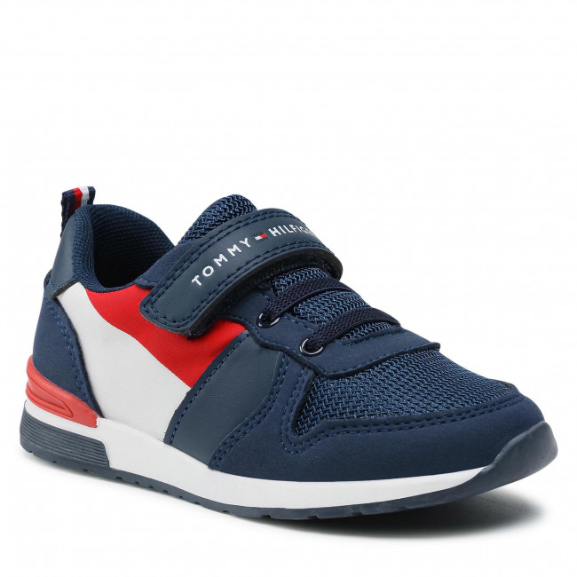 Sneakersy TOMMY HILFIGER - Low Cut Lace-Up T1B4-32071-1040 S Blue 800