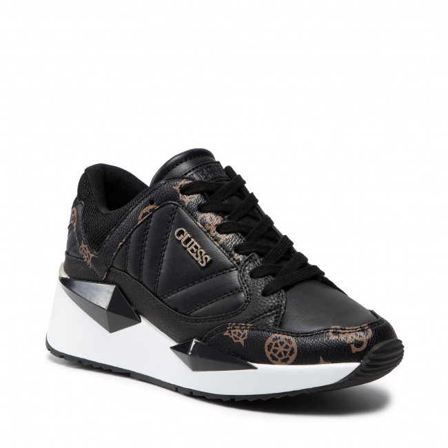Sneakersy GUESS - Traves FL7TRS FAL12 BLKBR