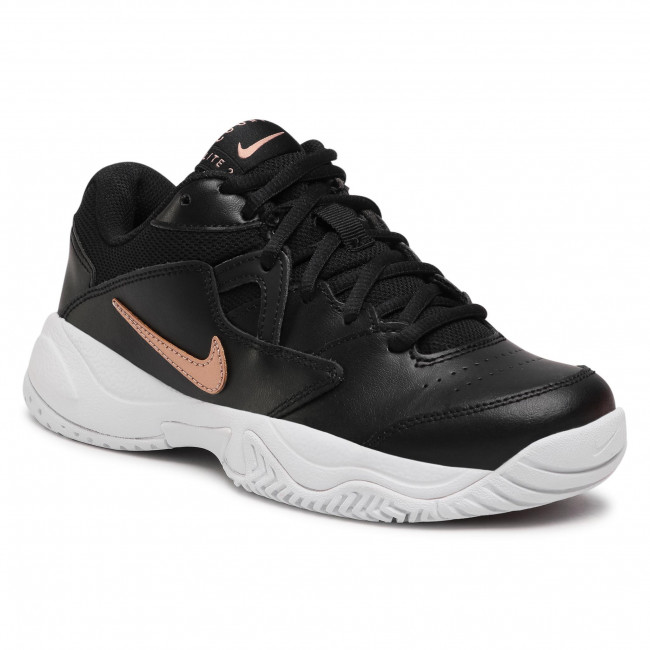 Buty NIKE - Court Lite 2 AR8838 003 Black/Mtlc Red/Bronze/White