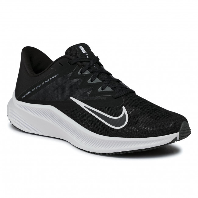 Buty NIKE - Quest 3 CD0230 002 Black/White/Iron Grey