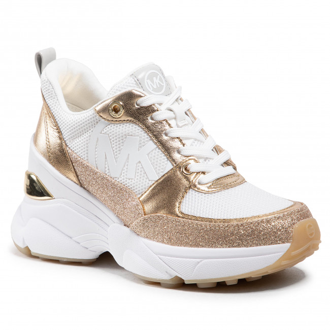 Sneakersy MICHAEL MICHAEL KORS - Mickey Trainer 43R1MKFS3D  Opt/Gold
