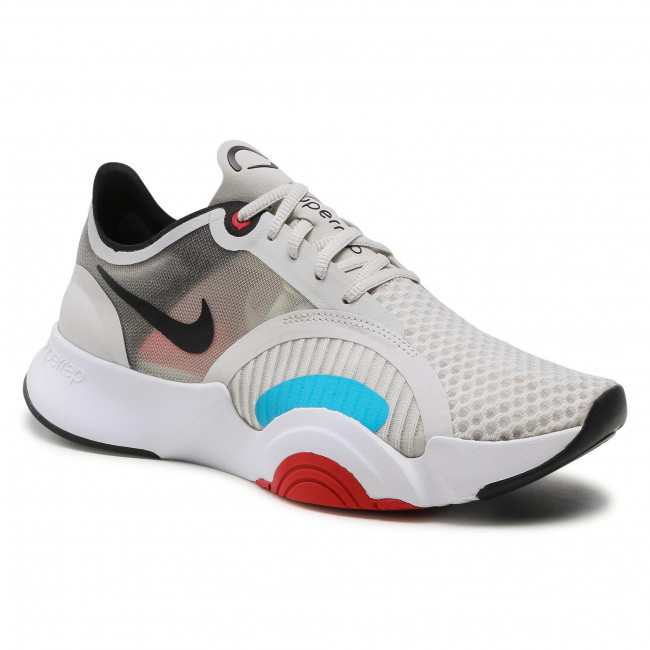 Buty NIKE - Superrep Go CJ0773 005 Light Bone/Black/White