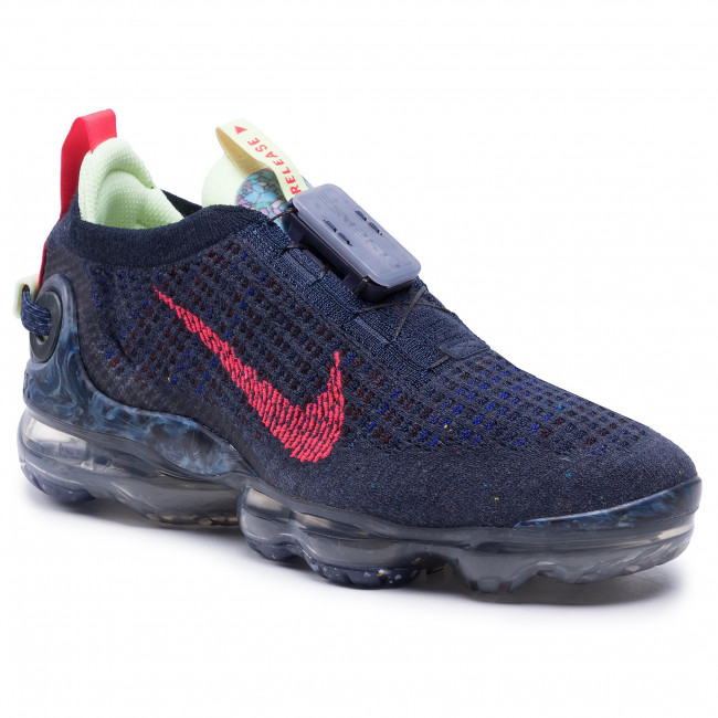 Buty NIKE - Air Vapormax 2020 Fk CW1765 400 Obsidian/Siren Red/Barely Volt