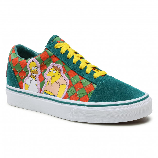 Tenisówki VANS - Old Skool VN0A4BV521M1M (The Simpsons) Moe's
