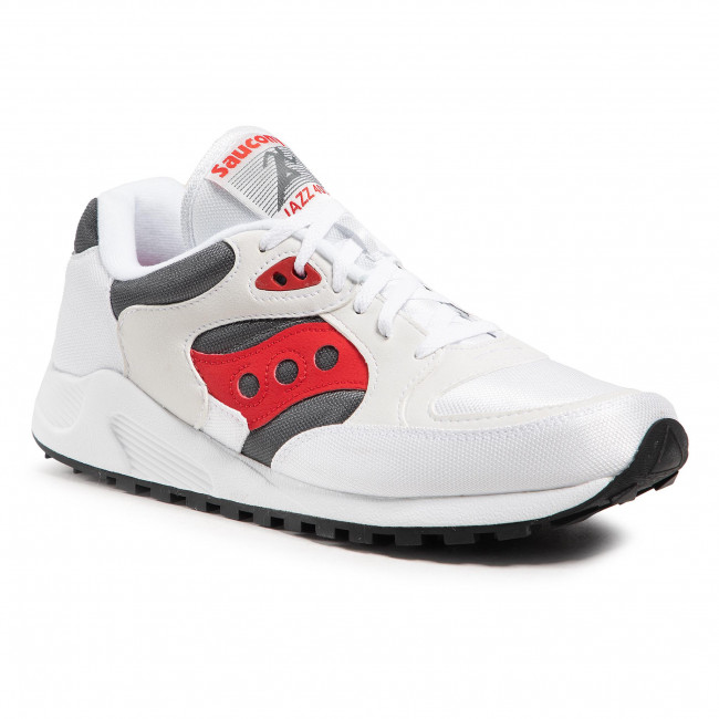 Sneakersy SAUCONY - Jazz 4000 S70487-4 Wht/Gry/Red