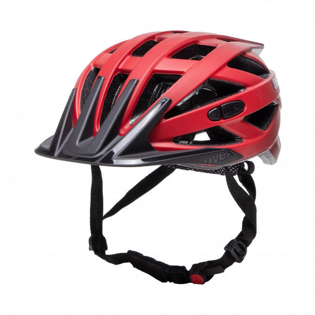 Kask rowerowy UVEX - I-Vo Cc 41042330 Red/Black Mat