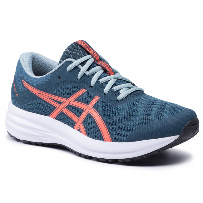 Buty ASICS - Patriot 12 Gs 1014A139  Magnetic Blue/Sunrise Red 400