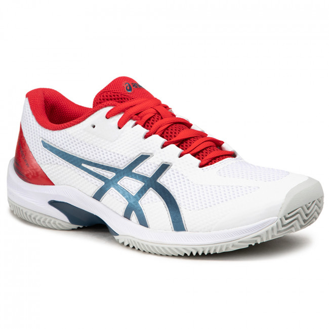 Buty ASICS - Court Speed Ff Clay 1041A093  White/Mako Blue 105
