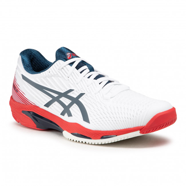 Buty ASICS - Solution Speed Ff 2 1041A182 White/Mako Blue 101