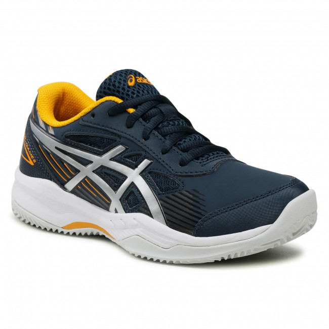 Buty ASICS - Gel-Game 8 Clay/Oc Gs 1044A024 French Blue/Pure Silver 400