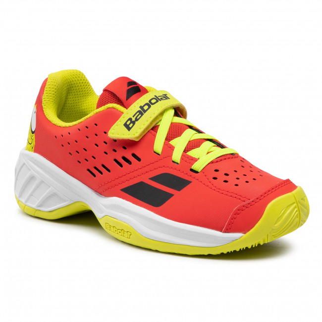 Buty BABOLAT - Pulsion All Court Kid 32F20518 Tomato Red 5027