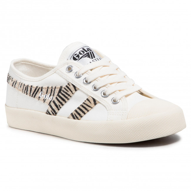 Trampki GOLA - Coaster Safari CLB003 Off White/Zebra