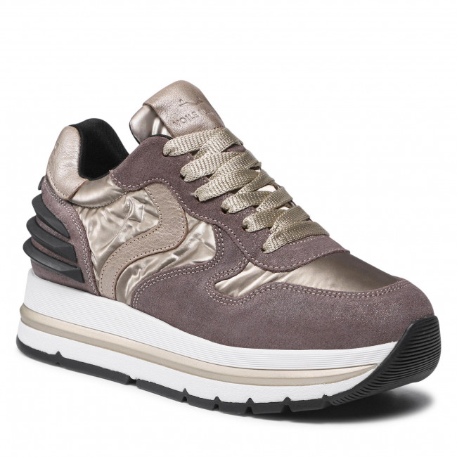 Sneakersy VOILE BLANCHE - Maran Power 0012016156.04.1D42 Taupe/Platinum