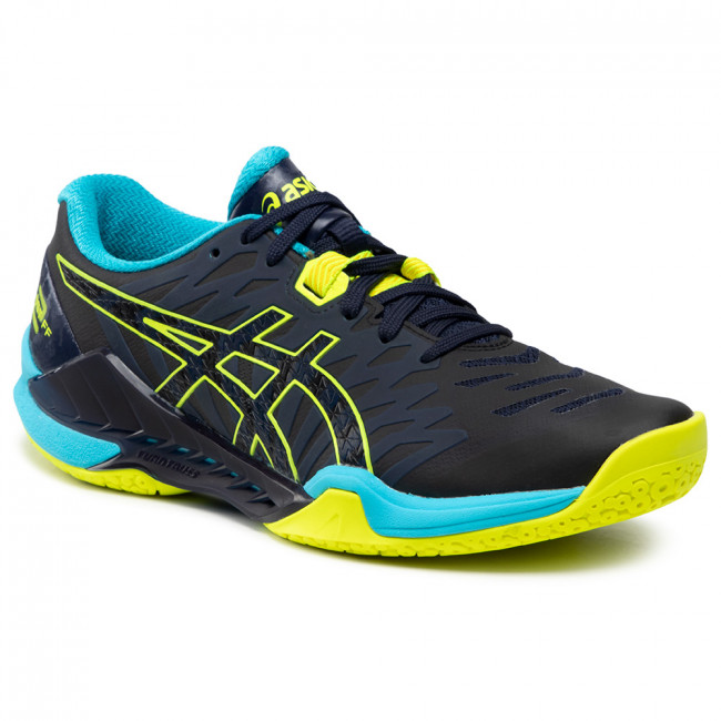 Buty ASICS - Blast Ff 2 1071A044 Peacoat/Safety Yellow 400