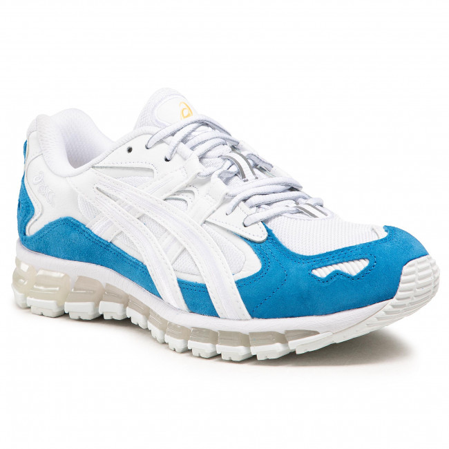 Sneakersy ASICS - Gel-Kayano 5 360 1201A053 White/Electric Blue 100
