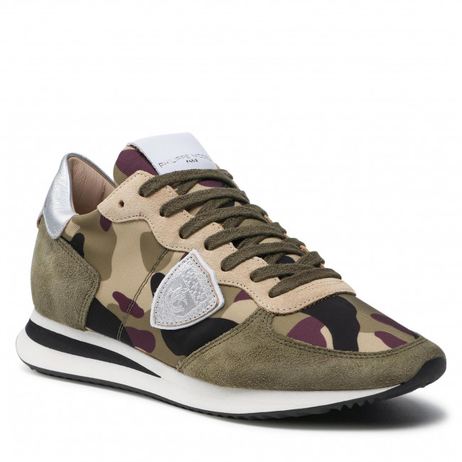 Sneakersy PHILIPPE MODEL - Trpx TZLD CC25 Militaire