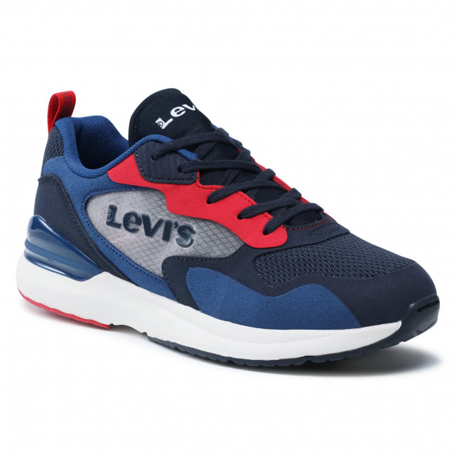 Sneakersy LEVI'S® - VFAS0011T Navy Red 0290