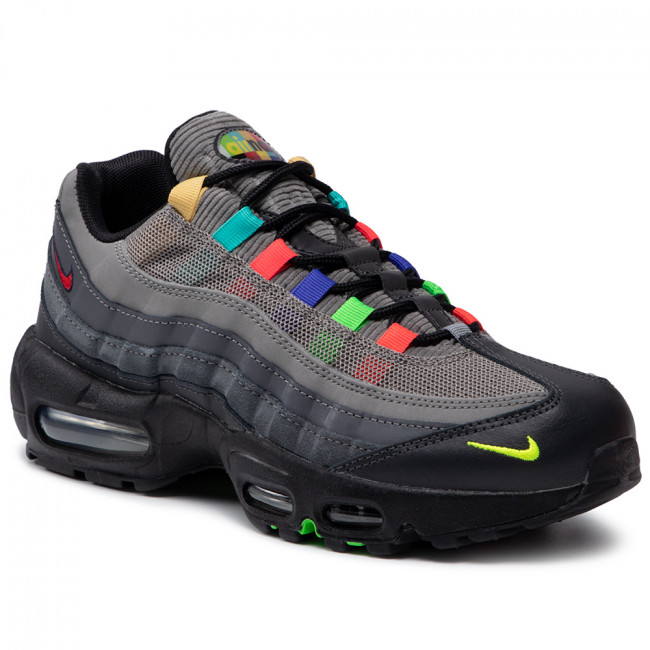 Buty NIKE - Air Max 95 Se CW6575 001 Light Charcoal/University Red