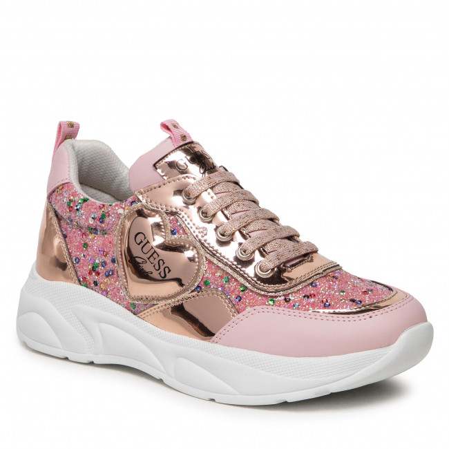 Sneakersy GUESS - FJCLA8 FAM12  PINK