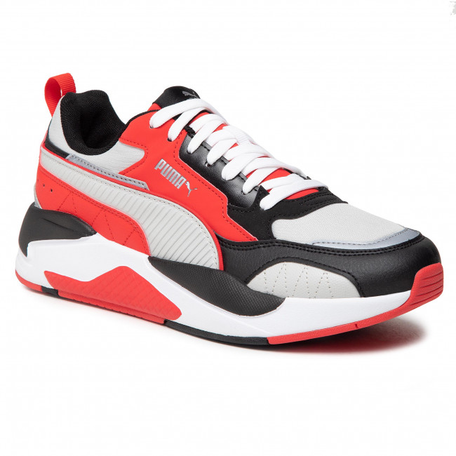 Sneakersy PUMA - X-Ray 2 Square Pack 374121 01 Hi Risk Red/Gray Violet/Blk