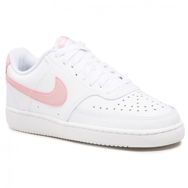 Buty NIKE - Court Vision Low CD5434 110 White/Pink/Glaze
