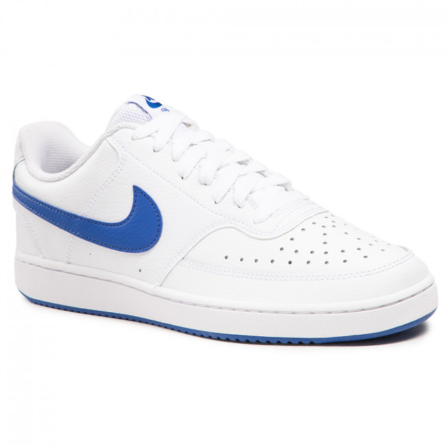 Buty NIKE - Court Vision Lo CD5463 103 White/Game Royal