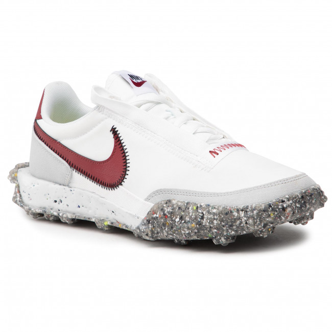 Buty NIKE - Waffle Racer Crater CT1983 103 Summit White/Team Red