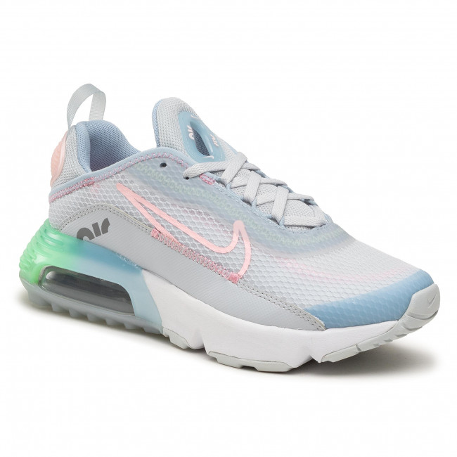 Buty NIKE - Air Max 2090 Se (Gs) VW5627 001 Pure Platinum/Arctic Punch