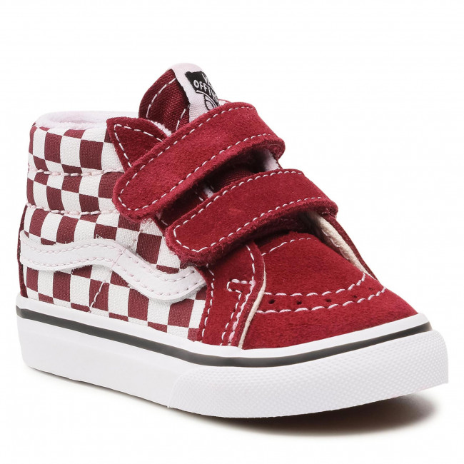 Sneakersy VANS - Sk8-Mid Reissue V VN0A5DXD99G1 (Checkerboard)Pmgrnttrwht