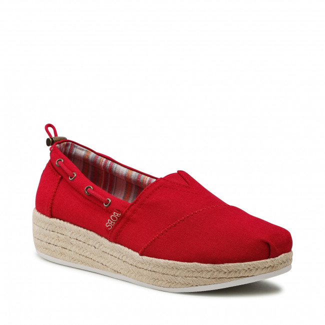 Espadryle SKECHERS - Yacht Master 113075/RED Red