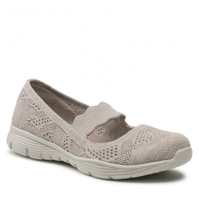 Półbuty SKECHERS - Pitch Out 158081/TPE Taupe