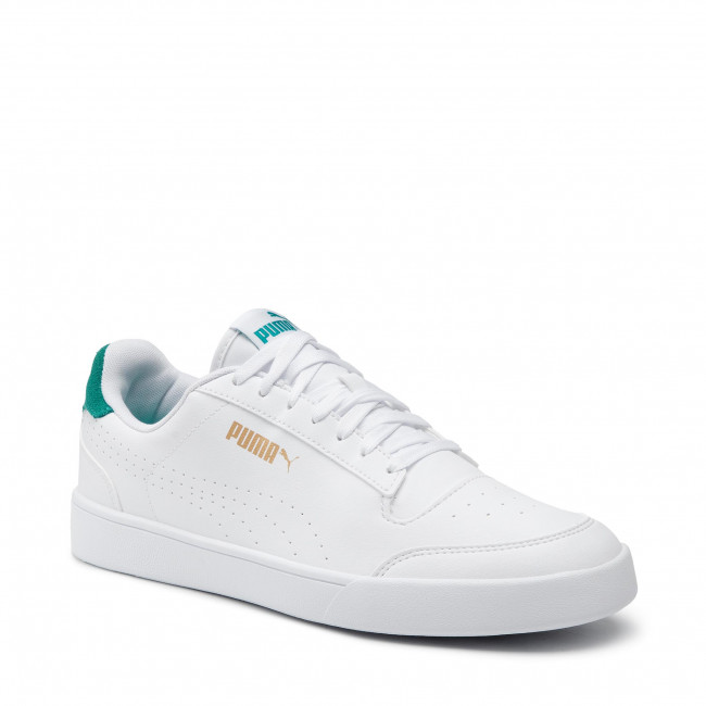 Sneakersy PUMA - Shuffle Perf 380150 02 White/Parasailing/Gold