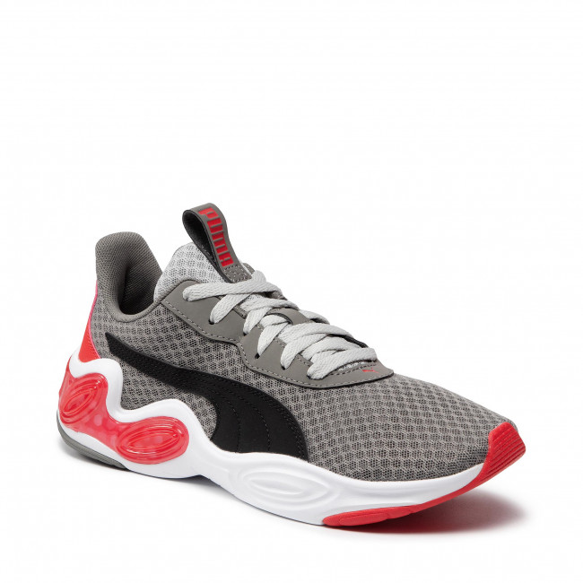 Buty PUMA - Cell Magma Clean 193633 10 Ultra Gray/High Risk Red