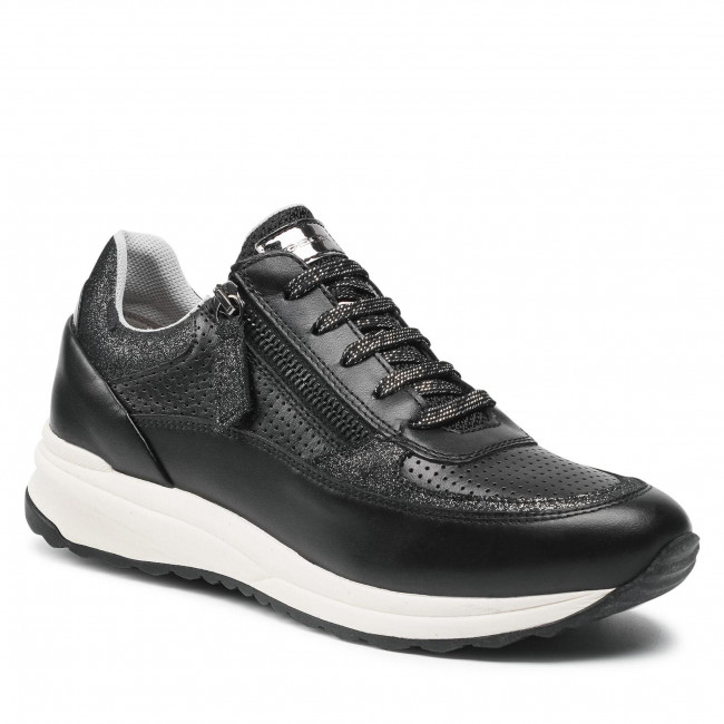 Sneakersy GEOX - D Airell A D152SA 08577 C9999 Black