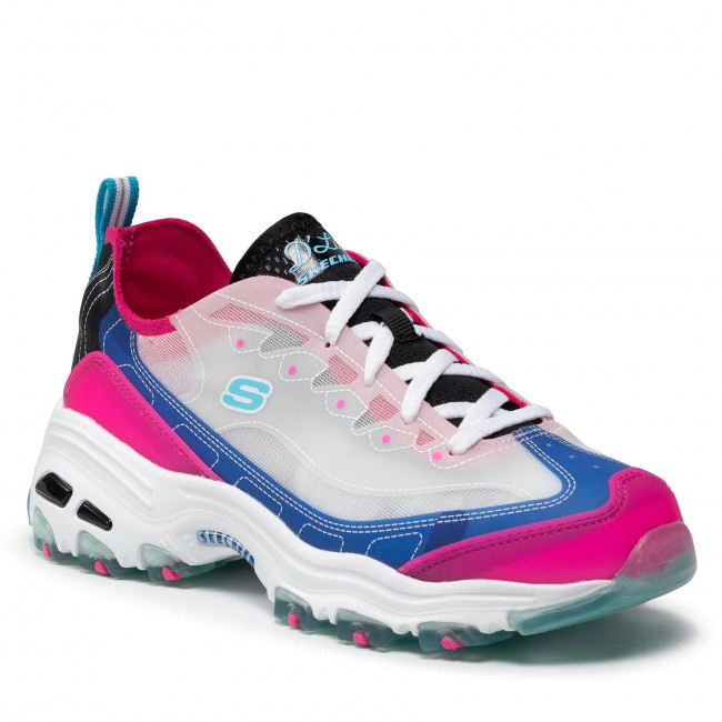 Sneakersy SKECHERS - Fresh Air 149235/BLHP Blue/Hot Pink