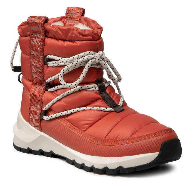 Śniegowce THE NORTH FACE - Thermoball Lace Up NF0A4AZGT971  Burnt Ochre/Tnf Black