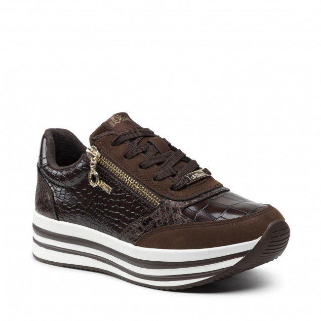 Sneakersy S.OLIVER - 5-23624-37 Mocca 304