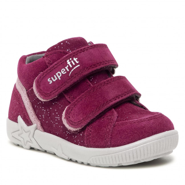 Sneakersy SUPERFIT - 1-006434-5000 Rot/Rosa