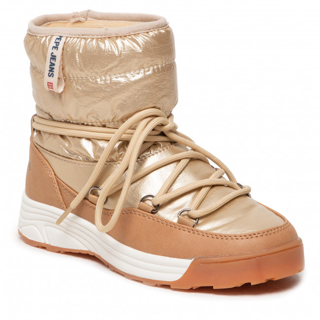 Buty PEPE JEANS - Jarvis Puff PGS50170 Golden 029
