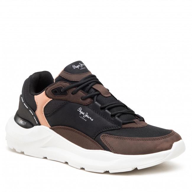 Sneakersy PEPE JEANS - Brooks Tech PMS30756  Stag 884